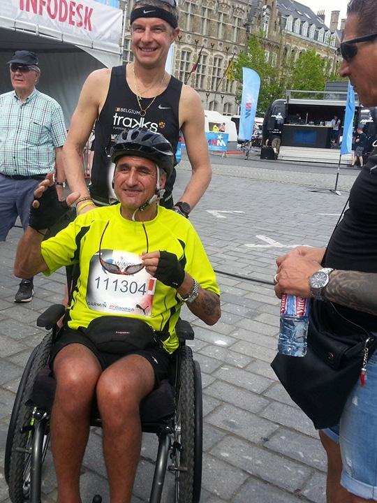 Antonio Ventriglia, ALS Liga Belgium, Diagnosed 2013, Belgium