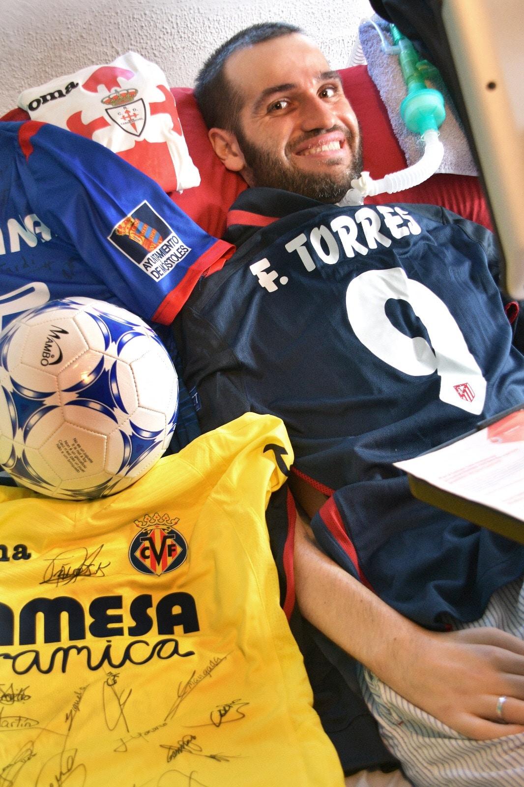 Carlos Gomez Matallanas, Diagnosed 2014 - FUNDELA, Spain