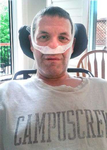 Chris McCauley, Diagnosed 2015 - ALS Canada
