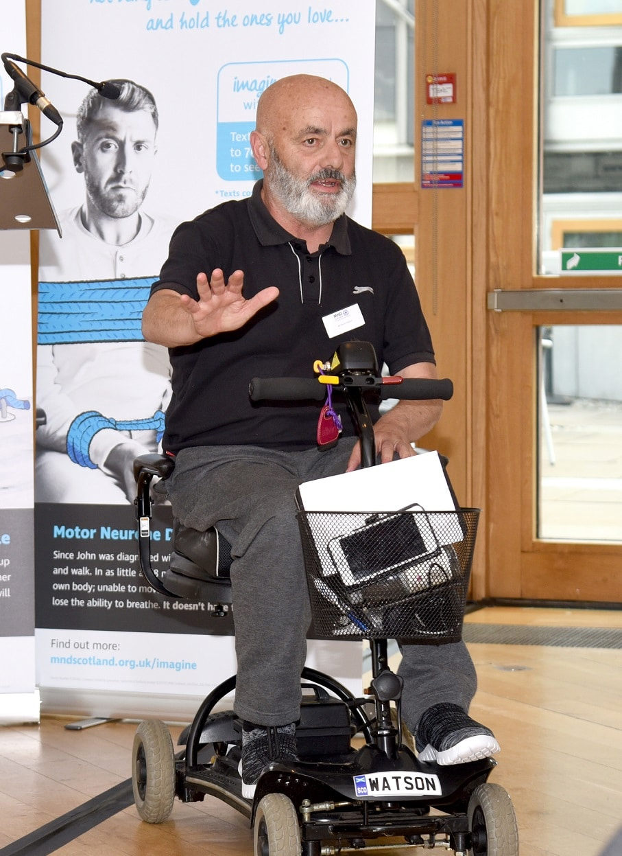 David Watson, MND Scotland, Diagnosed 2018, Scotland
