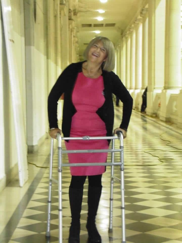 Monica Soriano, Diagnosed 2011 - Asociación ELA Argentina