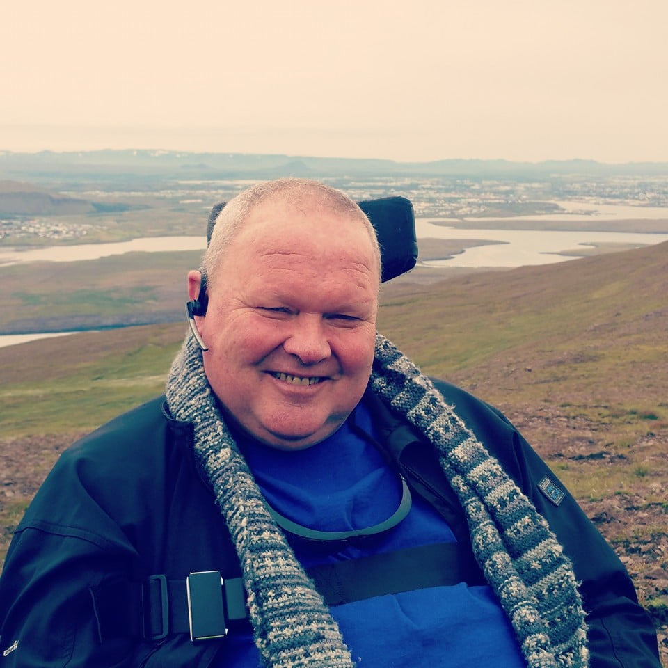 Gudjon Sigurdsson, Diagnosed 2004 - MND Association of Iceland