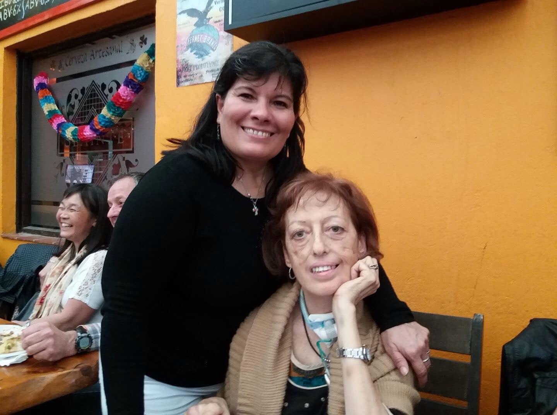 Diana Fernandez, Diagnosed 2009 - Asociación ELA Argentina