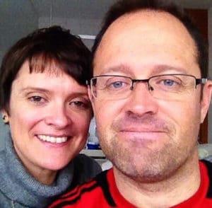 Sue Clarke and her brother David (Courtesy: Sue Clarke)